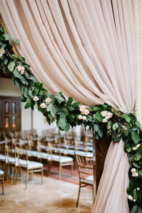 greenery garland for 2016 weddings